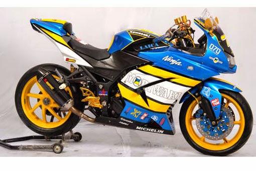 Gambar  Modifikasi Kawasaki Ninja 250R