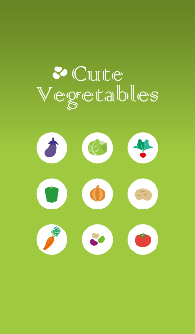 Cute Vegetables ---Spring-Summer---