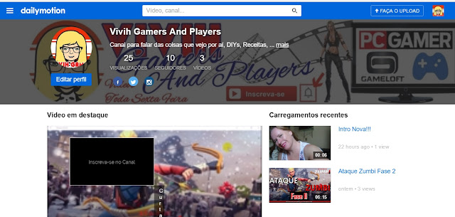 Dailymotion ou Youtube...Qual o Preferido?