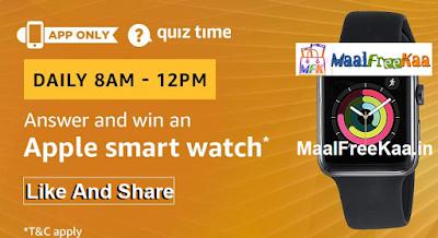 Apple Smart Watch Free