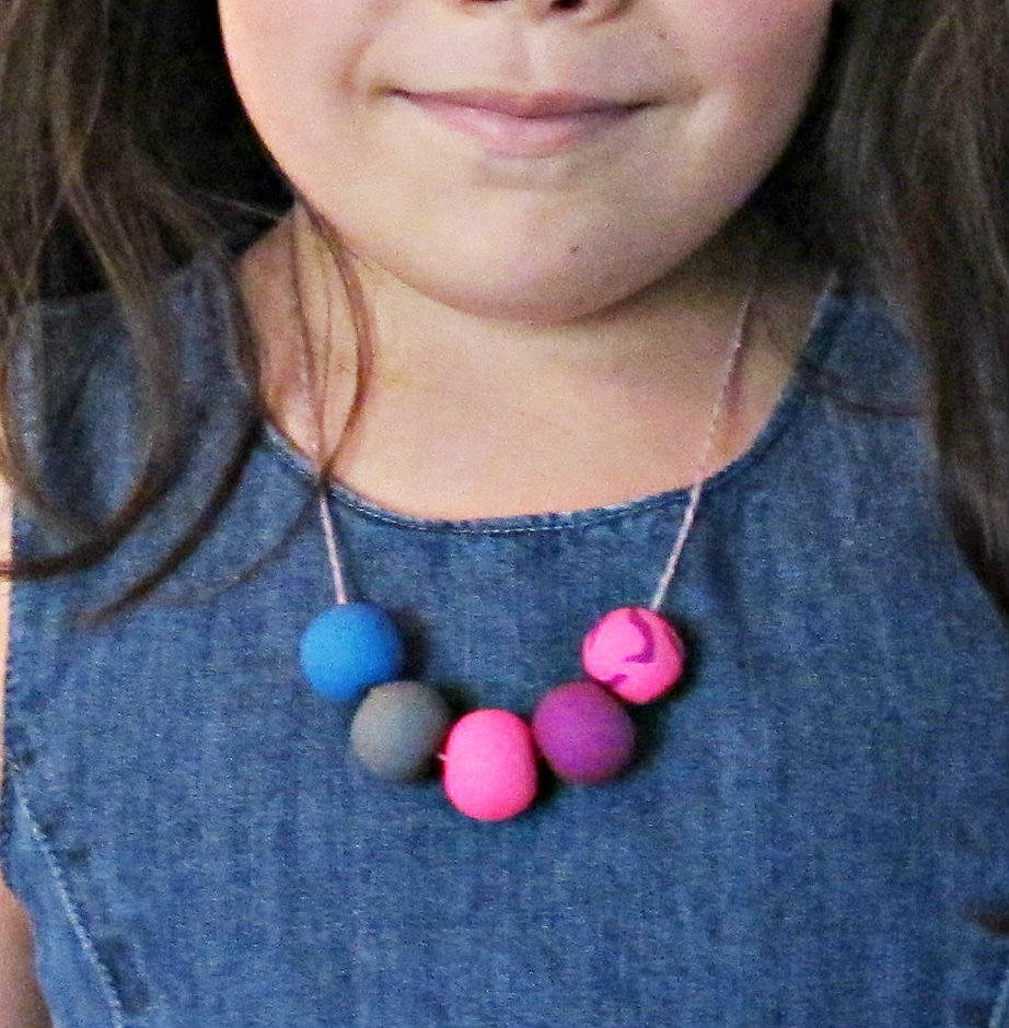 image diy gumball necklace tutorial