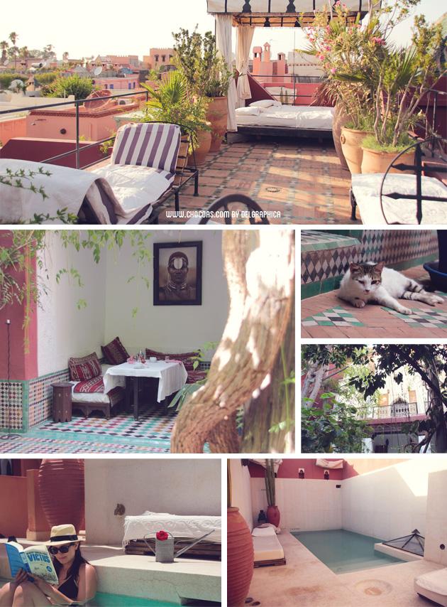Marrakech - verano delgraphica 2013 - riad Kaïss