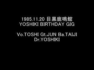 X JAPAN – Yoshiki Birthday Gig