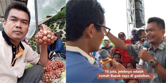 Subkhan, Petani Bawang Brebes Bungkam Hoax dan Fitnah Sandiwara