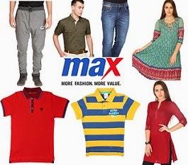 Max Clothing for Men's | Women's | Kids: Flat 20% Off on Min Cart Value of Rs.999@ Flipkart