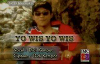 Lirik Lagu Yo Wis Yo Wis - Didi Kempot