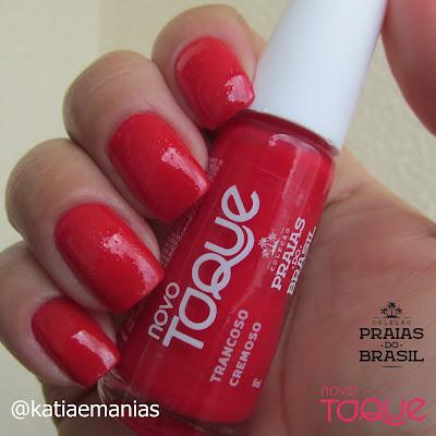Novo Toque, La Femme, Born Pretty, carimbada, Nail Plus, vermelho,
