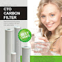 PurePro USA Pro-Series Carbon Cartridge Filters CTO-102505