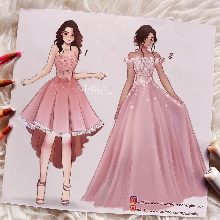 07-Complementary-dresses-Fashion-Drawings-Fajri-Aulia-www-designstack-co