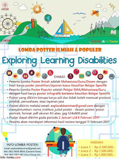 Lomba Poster Exploring Learning Disabilities