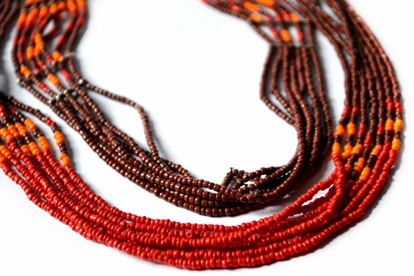 Beaded Multi-Chain Necklace