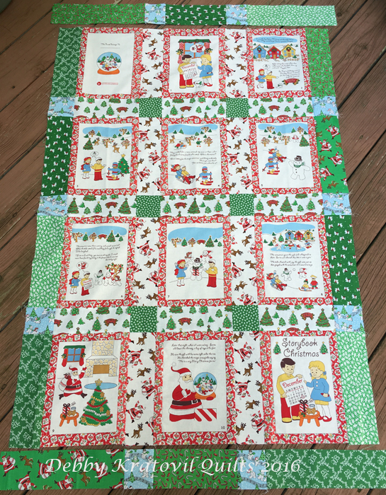 Debby Kratovil Quilts: Soft book Panels to Quilts : christmas quilting panels - Adamdwight.com