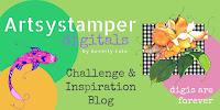 Artsystamper Digitals Challenge blog