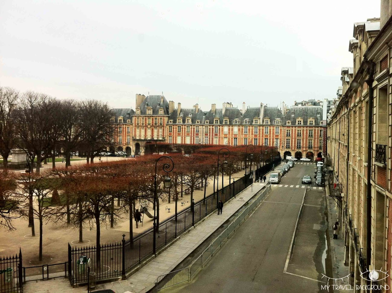 My Travel Background : #ParisPromenade, Le Marais - La place des Vosges