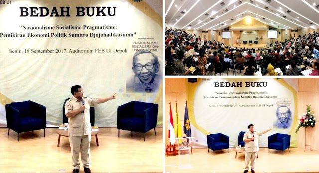 Excellent Luar Biasa! Decak Kagum Para Profesor pada Prabowo