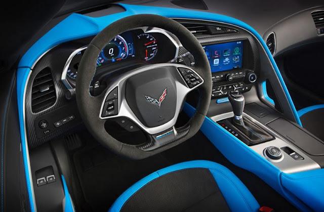 2017  interior Chevrolet Corvette Grand Sport