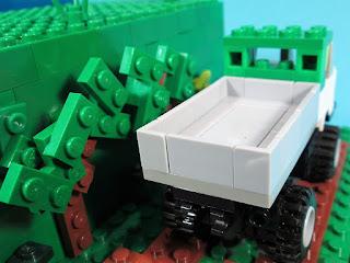 MOC LEGO Mercedes Benz Unuimog