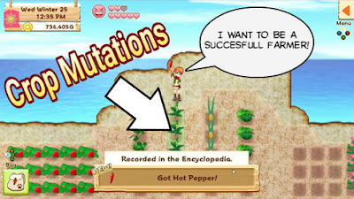Crops and Crop Mutations - Harvest Moon: Light of Hope