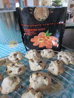 Biscotti al mascarpone & albicocca