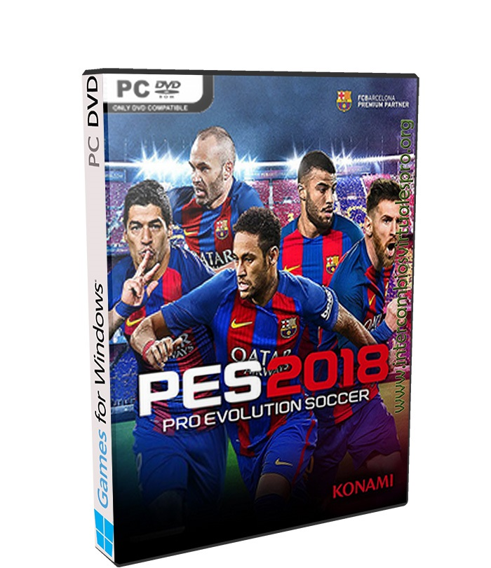 PRO EVOLUTION SOCCER 2018 poster box cover