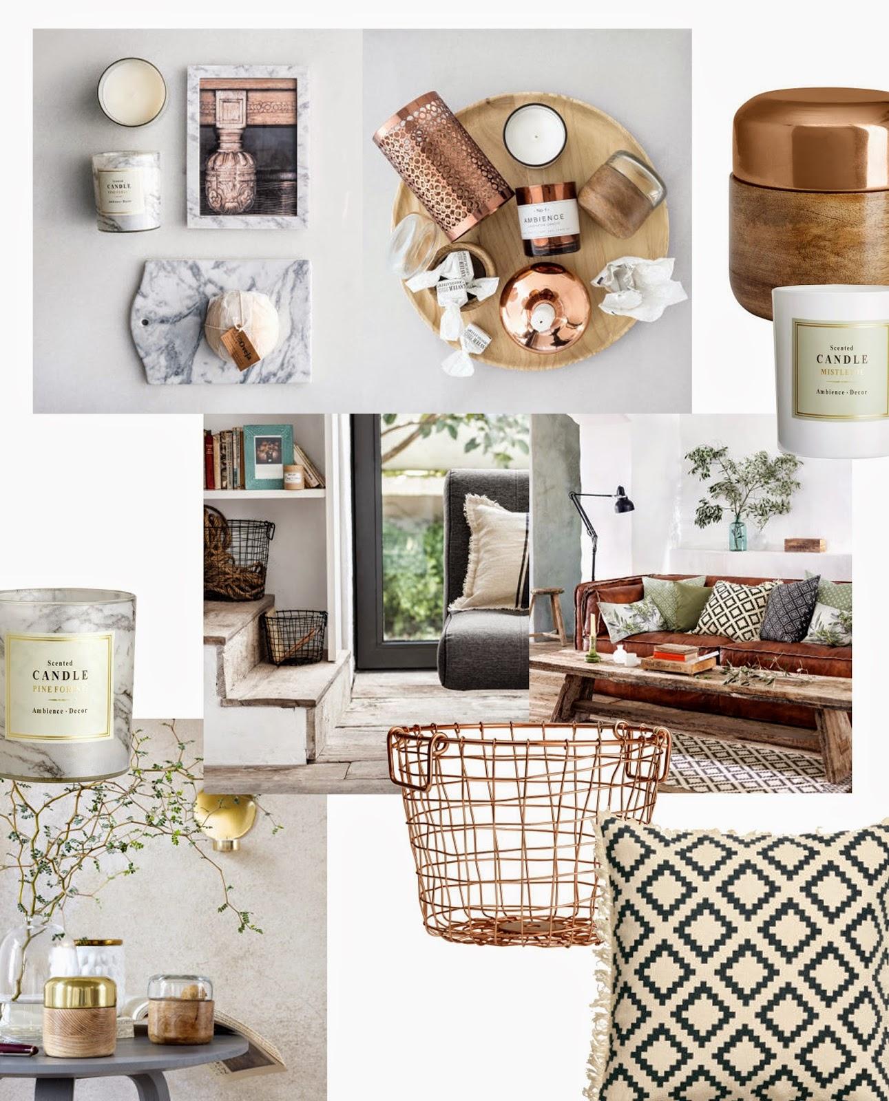 Home Inspiration: H&M Home Inspiration & Wishlists!