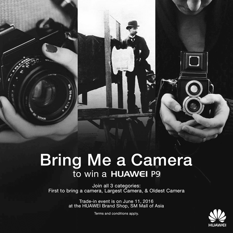 Bring me a camera promo by Huawei
