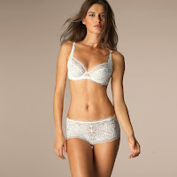 Catrinel Menghia hot model photo shoot for La Redoute sexy lingerie