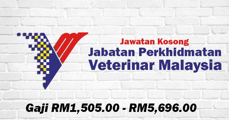 Jawatan Kosong di Jabatan Perkhidmatan Veterinar