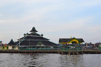 Masjid Jamik kebanggan Kota Pontianak