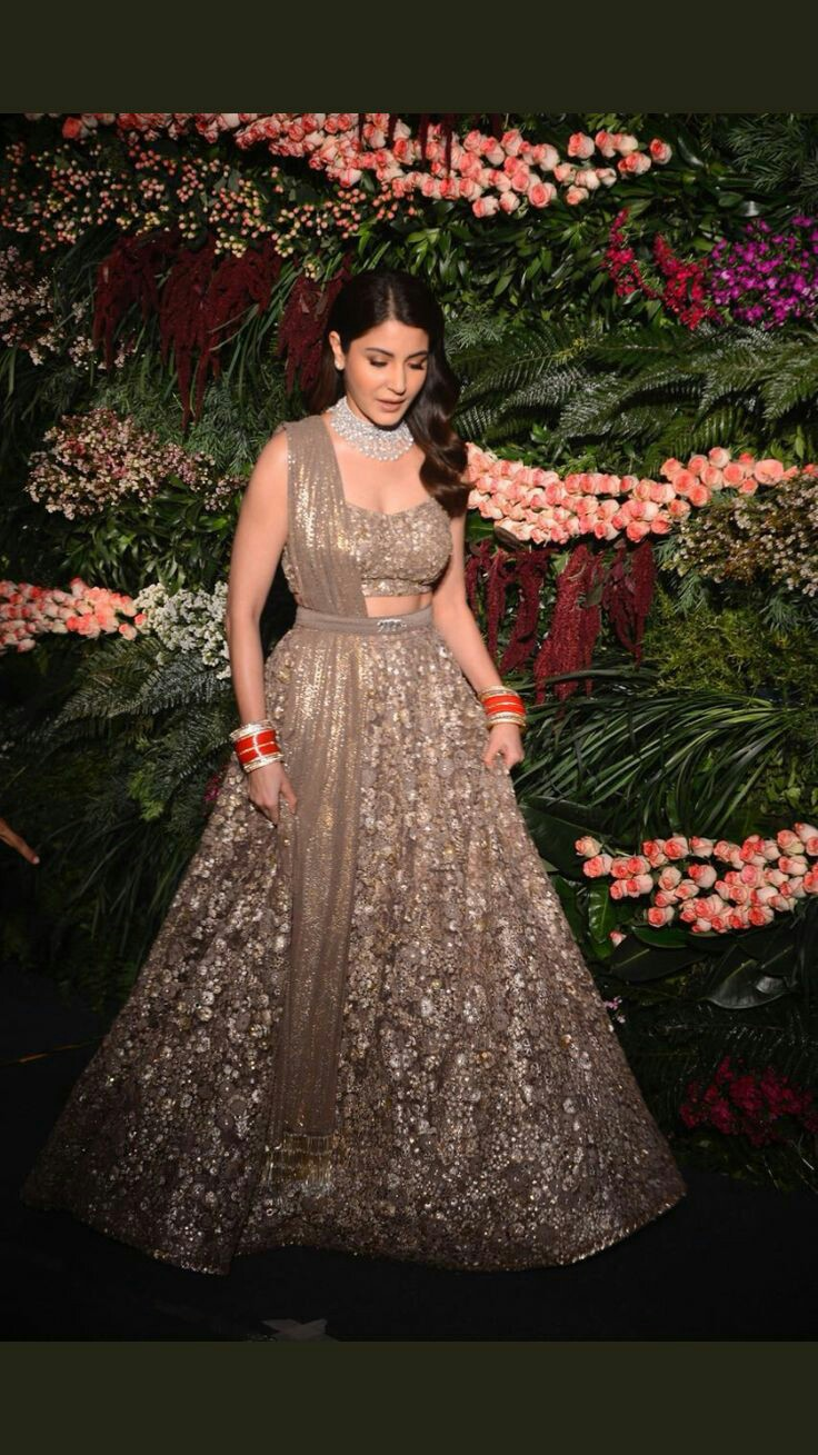 Indian Wedding Reception Outfit Ideas