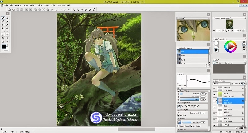 OpenCanvas Terbaru Full Version