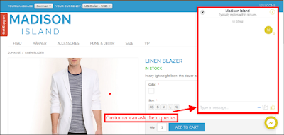 Magento social live chat support plugin