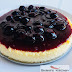 New York Cheescake with Bluberry Sauce