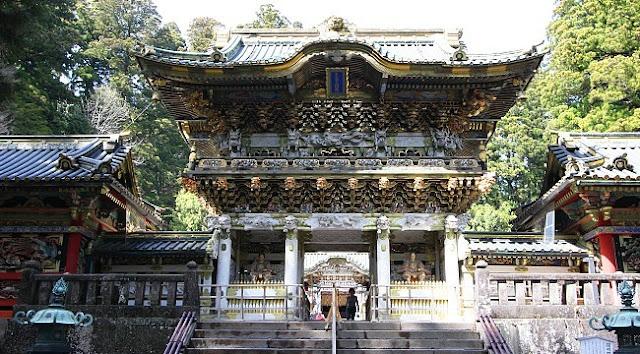 Santuario Toshogu en Nikko. Fuente: Japan Guide