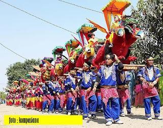 Kesenian Singa Depok di Indramayu - Blog Mas Hendra