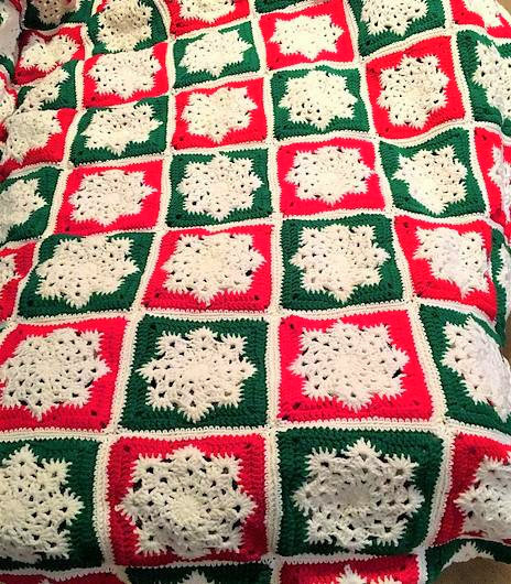 Christmas Afghan Crochet Pattern Roundup Amvabe Crochet