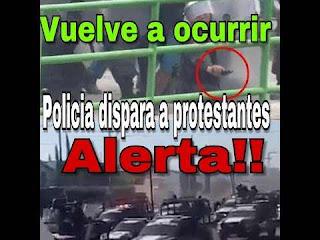 México: Empiezan a matar y desaparecer a los protestantes del gasolinazo