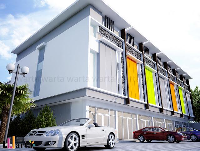 Desain Ruko Bandar Lampung