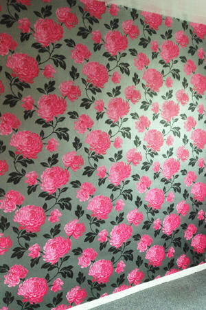 Pink And Black Bedroom Wallpaper] Home Interior Design With ...