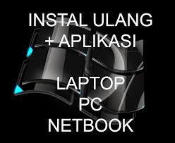 jasa instal ulang komputer,laptop atau netbook di belitung
