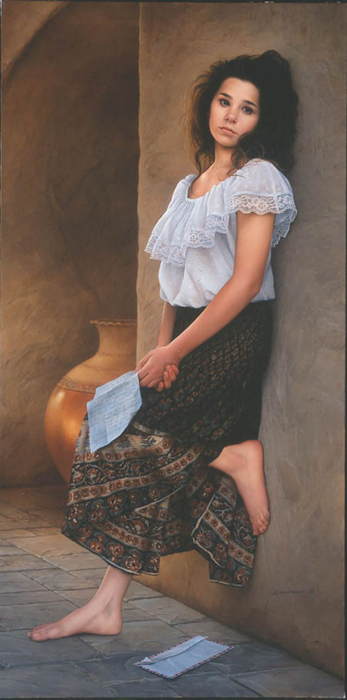 Duffy Sheridan 1947 | American Realistic Figurative painter