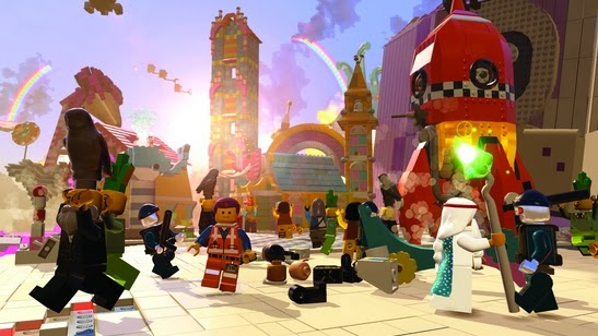 Gameplay The LEGO Movie Videogame