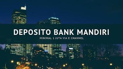 Cara Hitung Bunga Deposito Bank Mandiri 2018