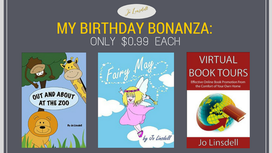 My Birthday Bonanza: Only $0.99 each