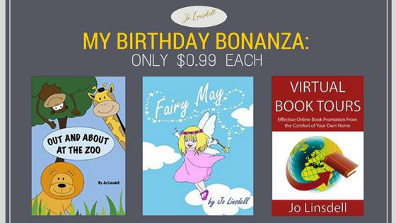 My Birthday Bonanza: Only $0.99 each