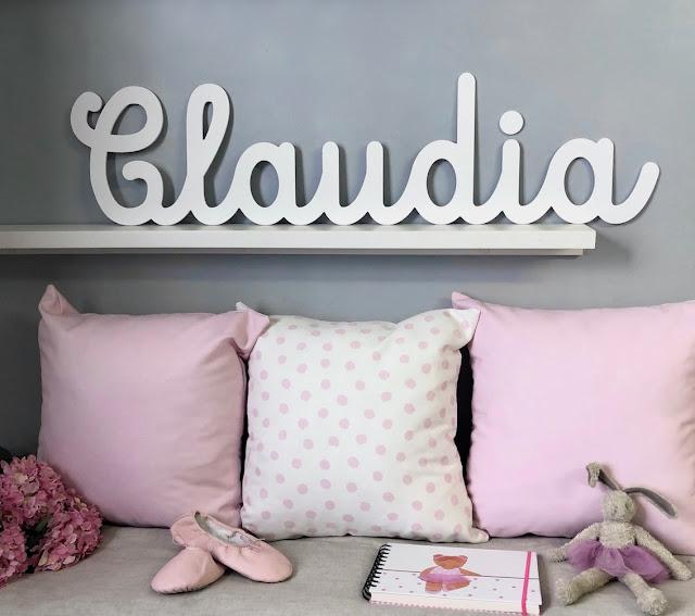 letras y nombres  de niños y niñas para decorar habitación infantil