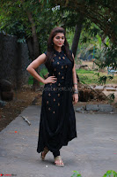 Actress Yamini Bhaskar in a Tight Black Sleeveless Dress ~  Exclusive 45.JPG