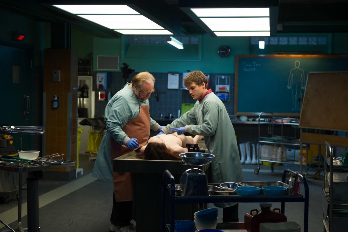 La autopsia de Jane Doe - protagonistas