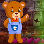 Play Games4King Rescue The Clad Bear