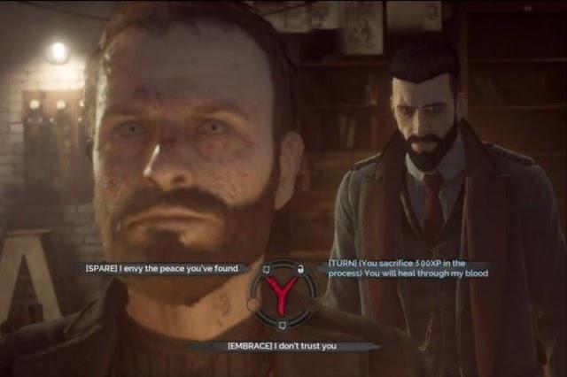Шон Хэмптон и последствия твоего выбора в Vampyr